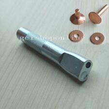 6 Sets Solid Copper Rivets + One Burrs Setter Tool  Fasteners Permanent 9mm 12mm