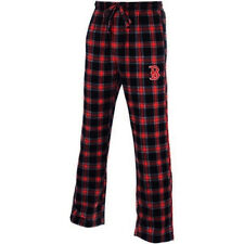 College Concepts Men's MLB Boston Red Sox Plaid Flannel Pajamas Pants New