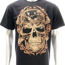 sc25 Sz L XL Survivor Chang 3D T-shirt Tattoo STUD Skull Graffiti Dead Rock Punk