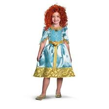 NEW Disney Brave Merida Girls Costume Red WIG Toddler Movie Dress Up 3T 4T Child