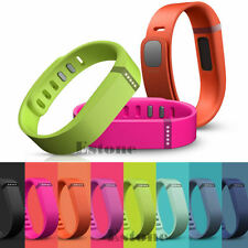 Small S Large L Replacement Wrist Band w/ Clasp Fitbit Flex Bracelet No Tracker