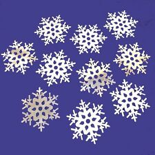 Winter Foil Snowflake Cutouts - Christmas Decorations - Choose Qty
