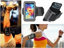Slim Black Sports Gym Running Armband Pouch Cover Case For LG Accessory