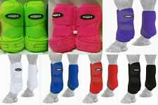 Choice! Horse Pony Extreme Vented Splint Sports Front Pair Rear Boots Value Pack