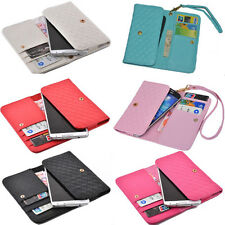 luxury Wallet Card Holder Full multifunction Cover Case For Spice mobile phone