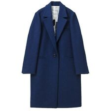 [Lucky Chouette] Women's Fashionable Harris Tweed Tailored Coat (LFCW43201NV)