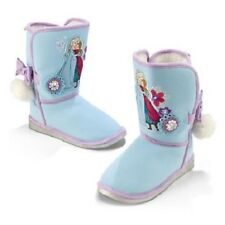 DeLuXe~ELSA+ANNA~Fur Lined~BOOTS~Frozen~NWT~Disney Store~2014~STAMP