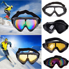 Ski Snowboard Goggles Lens Frame Motorcycle Dustproof Sun Glasses Eye Protection