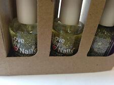 BRAND NEW LOVE MY NAILS SET OF 4 NAIL POLISH AVAILABLE IN 2 COLORS -FREE UK POST