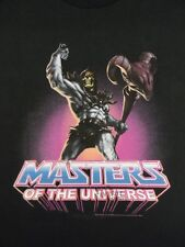 Masters of The Universe He-Man Skeletor Power Licensed Adult Shirt S-3XL