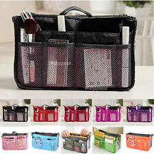 Women Organizer Organiser Travel Bag Purse Handbag Insert Liner Large Tidy