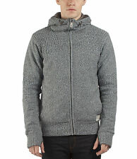 Mens Winter Hoodie Jumper by Bench 'Aloiluts' Fur Linned Body