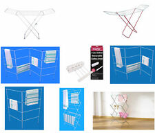 Folding Clothes Airers Indoor Drying Rack Laundry Dryer Fold Concertina Outdoor