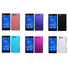 Hard Rubberized Matte Snap-On Slim Cover Case for Sony Xperia Z3 Compact