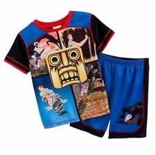 New 2 Piece Temple Run Pajamas Top and Shorts Set Size 4-5 or 8