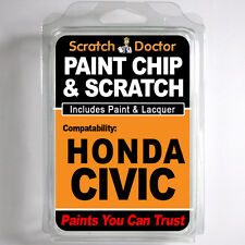 HONDA CIVIC TOUCH UP PAINT Stone Chip Scratch Repair Kit 2004-2009