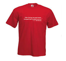NEW Bill Shankly Two Teams Liverpool FC Football Club Team T-Shirt - All Sizes