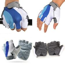 Weight Lifting Workout Body Building Power Training Gym Half Finger Gloves Mitts