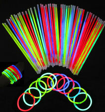 Glow Stick Party wedding fun Supply Light Bracelets necklace100/200/300P Chic HU