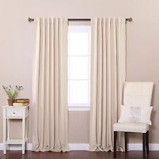 "RETURN - Blackout Thermal Insulated Curtain 84""L-1 Set"