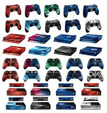 OFFICIAL FOOTBALL CLUB - PS4 & XBOX ONE SKINS (Controller &/or Console) (Decals)