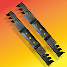 Set of 2 Comercial Multch Mower Blades for John Deere  #'s GX20249,GY20567 USA