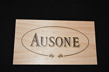 CHATEAU AUSONE Bordeaux Wine Crate PANEL Saint Emilion PREMIER GRAND CRU CLASSE