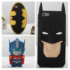 """New Genuine 3D Super Hero SOFT SILICONE BACK CASE COVER FOR Apple iPhone 6 4.7"""""""