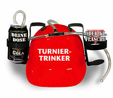 Drinking Helmet Party Helmet Carnival Party • TOURNAMENT-DRINKERS • 11838 • red
