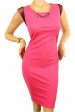 121AVENUE Lovely Embroidered Dress 1X Women Plus Size Pink Cocktail