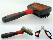 Pet Grooming Tools Dog Knot Brush Double Sided Pin Bristle Brush Nail Clippers