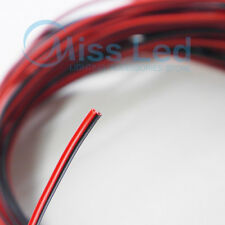 10/20/50/100m Red and Black 2 pin cable wire 22 AWG for single color led strip