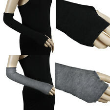 ELBOW FINGERLESS ARM WARMER ARMWARMERS GLOVES #GV004