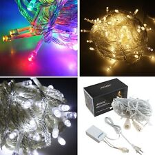 10-70M 100/700LED Fairy string Light Xmas party decor light 8 model connectable