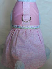 DOG CAT FERRET Couture Harness Dress~BCA Breast Cancer PINK Ribbon Hope Faith