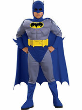Deluxe Boy's The Brave and The Bold Batman Muscle Chest Costume