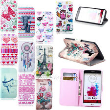Lovely Wallet Flip Leather Stand Pouch Case Cover For LG Optimus G3 D855 DEFFER