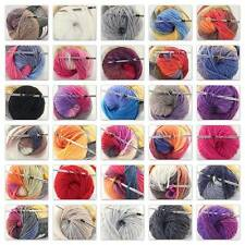 Sale 1 skeins X50gr NEW Chunky Hand Coarse Knitting Scores wool yarn D
