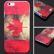 Top Sale Canada Flag Hard Back Case Cover Skin Shell Protector For Iphone 6 6G
