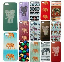 Patterned Elephant Phone Case for iPhone 4s 4 5c 6 Chevron Damask Cute Quality