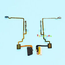 NEW POWER + HEADPHONE AUDIO JACK + HOLD SWITCH FLEX CABLE FOR IPOD NANO 7 #F-939
