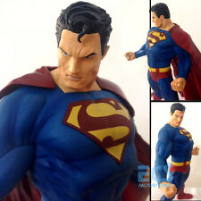 "Action Superman for Tomorrow DC Comics 12"" Statue Figure Man of Steel Crazy Toys"