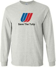 "United Airlines ""Save The Tulip"" Logo Long-Sleeve T-Shirt"