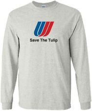 """United Airlines """"Save The Tulip"""" Logo Long-Sleeve T-Shirt"""