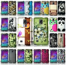 For Samsung Galaxy Note 4 Multi Designs Hard Snap On Cover Case Accessory