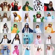 Hot Kigurumi Pajamas Animal Cosplay Costume Unisex Adult Onesie Sleepwear Dress