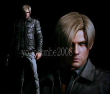 RE6 RESIDENT EVIL 6 LEON KENNEDY'S LEATHER FASHION KNIGHT MOTORCYCLE JACKET