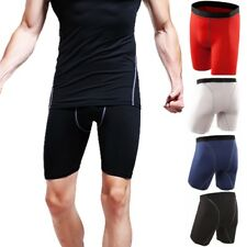 Men's Sports Compression Underwear Armour Shorts Pants Athletic BaseLayer Tights