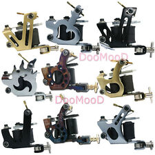 All-in-one Stamping Tattoo Machine Supply Dual 10 Wrap Coils For Shader & Liner