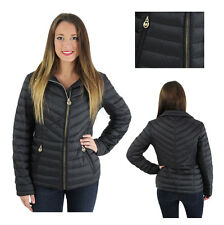 Michael Kors Packable Quilted Down Puffer Jacket Coat
